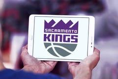 Sacramento Kings basketball team logo. Logo of Sacramento Kings club on samsung tablet. The Sacramento Kings are an American professional basketball team Stock Image