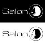 logo salon spa διάνυσμα διανυσματική απεικόνιση