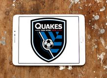 Logo Sans Jose Earthquakes Soccer Club lizenzfreie stockbilder
