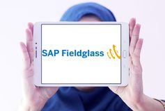 SAP Fieldglass software company logo Royalty Free Stock Photo