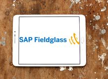 SAP Fieldglass software company logo Royalty Free Stock Photos