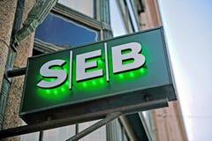 Logo of SEB bank Stock Photography