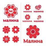 Logo, segno - lampone Fotografie Stock