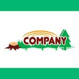 Logo, segno, simbolo, progettazione, illustrazione di vettore, progettazione, natura Immagini Stock Libere da Diritti