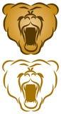 Logo selvaggio della natura Immagini Stock