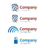 Logo set Royalty Free Stock Photography