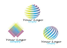 LOGO SET Royalty Free Stock Photos