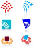 Communication logo set royalty free illustration