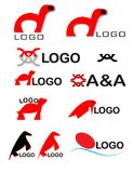 Logo set 2 Stock Photos