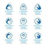 Logo Set Icon illustration libre de droits