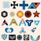 Logo Set Vol 01 Royalty Free Stock Image