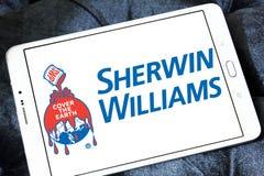 Sherwin Williams Company logo Stock Images