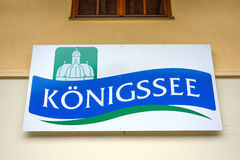 Logo / sign Koenigssee Royalty Free Stock Photos