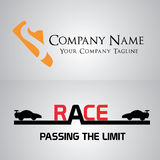 Logo. A simple logo for your company Stock Images