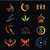 Logo. A simple logo for your company Stock Photos