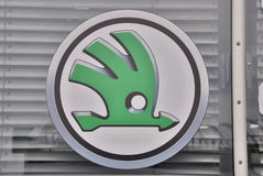 Logo Skoda Royalty Free Stock Image