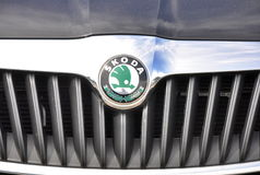 Logo Skoda Stock Images