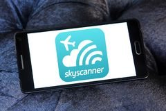 Skyscanner Logo Royalty Free Stock Photos