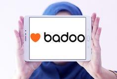 Logo social de réseau de Badoo Images stock
