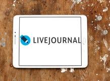 Logo social de service de mise en réseau de LiveJournal Photographie stock