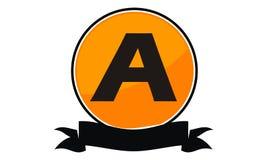 Logo Solution Letter moderne A Image stock