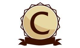 Logo Solution Letter moderne C Photos stock