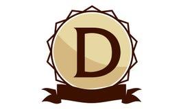 Logo Solution Letter moderne D Image libre de droits