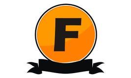 Logo Solution Letter moderne F Images stock