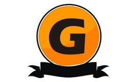 Logo Solution Letter moderne G Photo stock