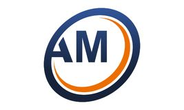 Logo Solution Letter moderne heure du matin Images stock