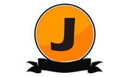 Logo Solution Letter moderne J Photos stock