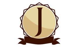 Logo Solution Letter moderne J Photographie stock