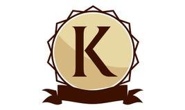 Logo Solution Letter moderne K Photographie stock