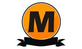 Logo Solution Letter moderne M Photos stock