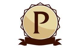 Logo Solution Letter moderne p Photographie stock libre de droits