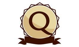 Logo Solution Letter moderne Q Photographie stock libre de droits