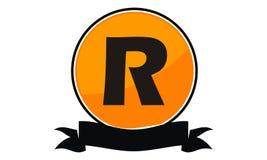 Logo Solution Letter moderne R Image libre de droits