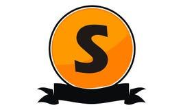 Logo Solution Letter moderne S Images libres de droits