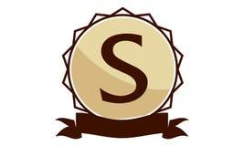 Logo Solution Letter moderne S Photos libres de droits