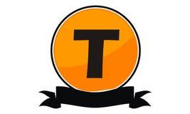 Logo Solution Letter moderne T Photos libres de droits