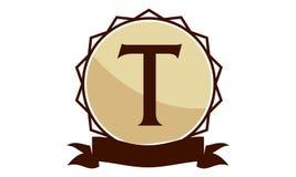 Logo Solution Letter moderne T Photos stock