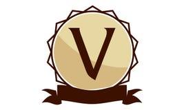 Logo Solution Letter moderne V Images stock