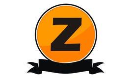 Logo Solution Letter moderne Z Photo libre de droits