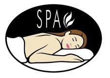 logo spa στοκ εικόνα με δικαίωμα ελεύθερης χρήσης