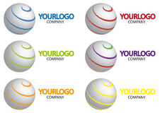 Logo Sphere  Stock Photo