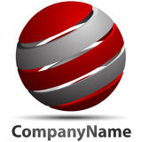 Logo sphere Royalty Free Stock Photos