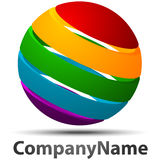 Logo sphere Stock Photography