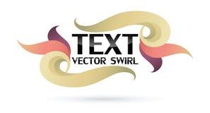 Logo Spiral Wave Photographie stock