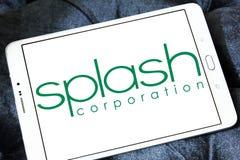 Splash Corporation logo Royalty Free Stock Photos