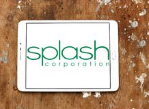 Splash Corporation logo Stock Image